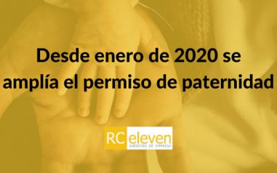 Desde enero de 2020 se amplía el permiso de paternidad